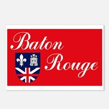 Baton Rouge Flag Postcards (Package of 8)