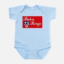 Baton Rouge Flag Infant Creeper
