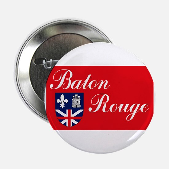 "Baton Rouge Flag 2.25"" Button (10 pack)"