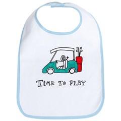 Time To Play- Golf Cart Bib