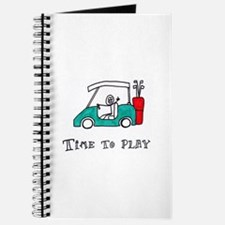 Time To Play- Golf Cart Journal