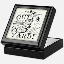 Out of my yard! Keepsake Box