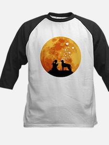 Irish Wolfhound Kids Baseball Jersey