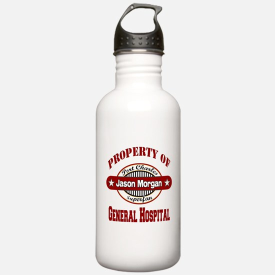 Property of Jason Morgan Water Bottle