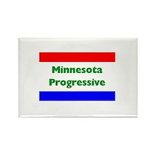 Minnesota Progressive Rectangle Magnet