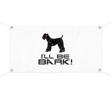Kerry Blue Terrier Banner