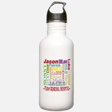 Team General Hospital Water Bottle