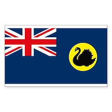Western Australia Flag Rectangle Decal