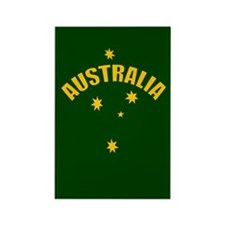 Australia Southern cross star Rectangle Magnet