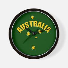 Australia Southern cross star Wall Clock