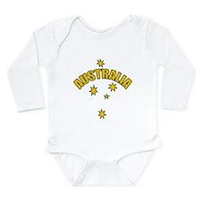Australia Southern cross star Long Sleeve Infant B
