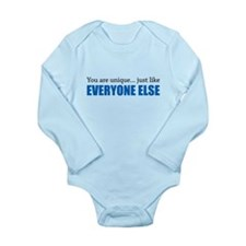 You Are Unique Long Sleeve Infant Bodysuit