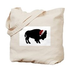 Cute Guy on a buffalo Tote Bag