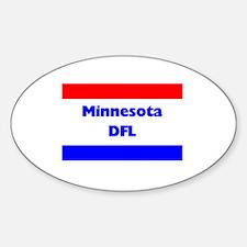 Minnesota DFL Oval Decal