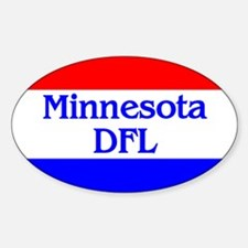 Minnesota DFL Oval Decal