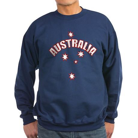 Australia Southern cross star Sweatshirt (dark)