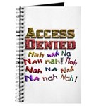 Access Denied, Nah na nah na Journal