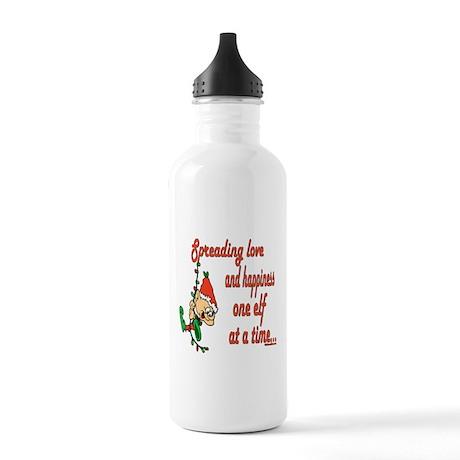 Christmas Elves Stainless Water Bottle 1.0L