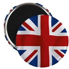 Union Jack flying flag Magnet