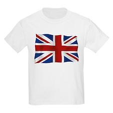Union Jack flying flag T-Shirt