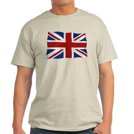 Union Jack flying flag Light T-Shirt
