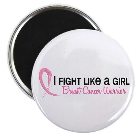 Licensed Fight Like a Girl 6.2 Magnet