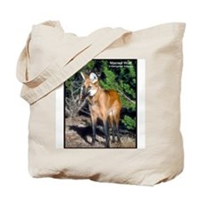 Maned Wolf Photo Tote Bag