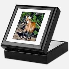 Maned Wolf Photo Keepsake Box