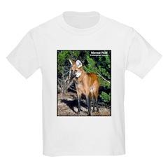 Maned Wolf Photo Kids T-Shirt