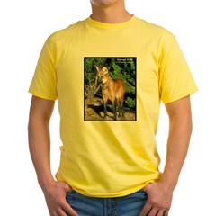Maned Wolf Photo (Front) T