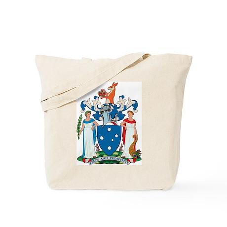 Victoria Coat of Arms Tote Bag