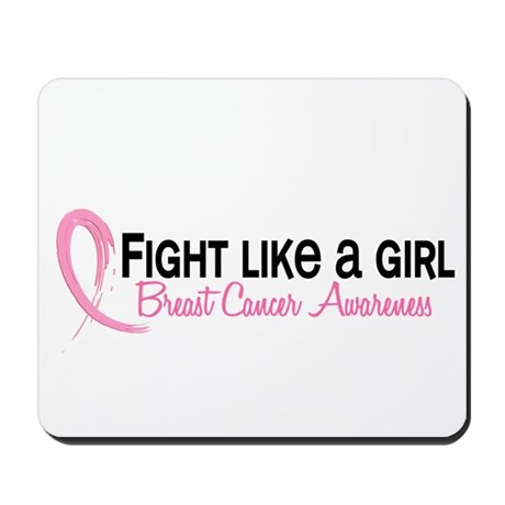 Licensed Fight Like a Girl 6.3 Mousepad