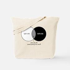 Dark Side Venn Diagram Tote Bag