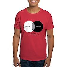 Dark Side Venn Diagram T-Shirt