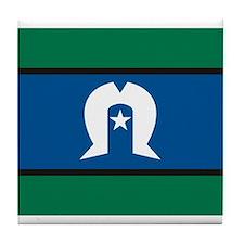 Torres Strait Islands Flag Tile Coaster