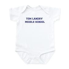 Tom Landry Middle School Infant Creeper