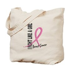 Licensed Fight Like a Girl 7.1 Tote Bag