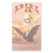 """Wild Woman Book Plate ((large 3""""X5"""")) St"""