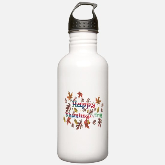 Unique Thanksgiving day Water Bottle