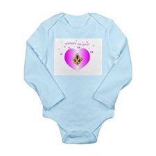Cute Girlie Long Sleeve Infant Bodysuit