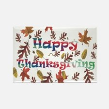 Unique Thanksgiving day Rectangle Magnet (100 pack)