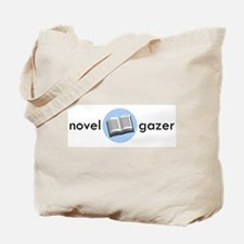 Novel Gazer Lt Blue Tote Bag