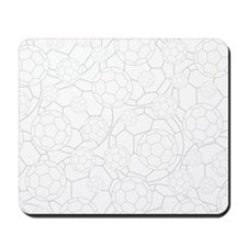 Simple Soccer Football Mousepad