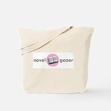 Novel Gazer Pink Tote Bag