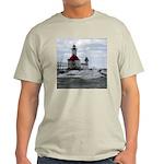 St. Joseph Lighthouse Ash Grey T-Shirt