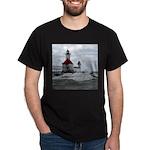 St. Joseph Lighthouse Black T-Shirt