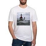 St. Joseph Lighthouse Fitted T-Shirt