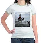 St. Joseph Lighthouse Jr. Ringer T-Shirt