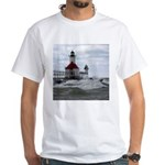 St. Joseph Lighthouse White T-Shirt