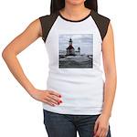 St. Joseph Lighthouse Women's Cap Sleeve T-Shirt